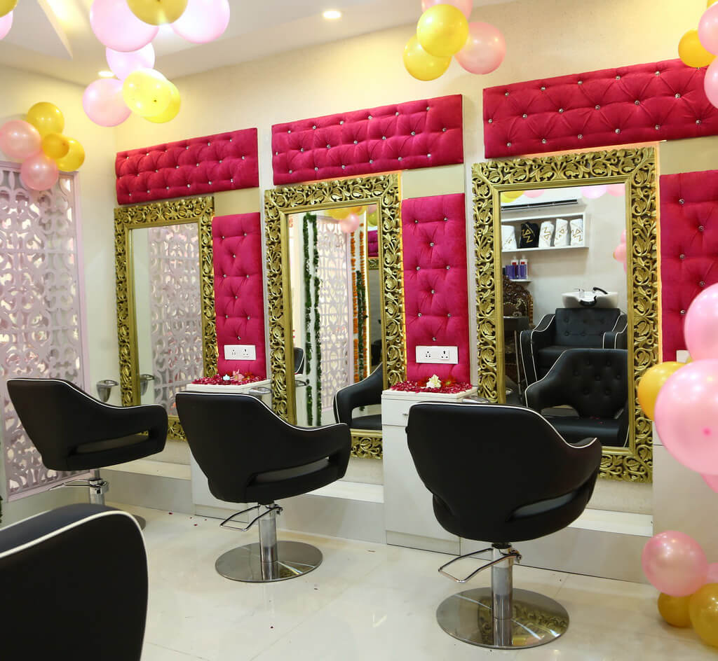 Makeup Mantra Salon Interior